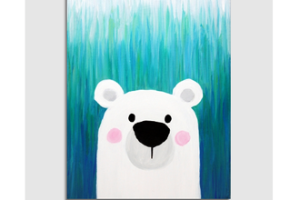 All Ages Paint Nite: Teal the Polar Bear